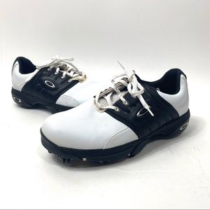 Oakley golf shoes bottom cleats size 9 leather